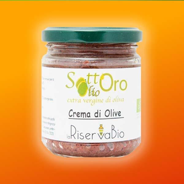 crema olive bio con olio extra vergine laRiservaBio